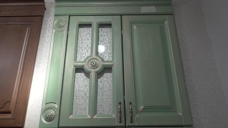 Мебельные фасады Классика в шпоне Клио от Ладос Мебель