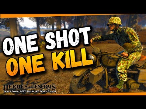 ONE SHOT, ONE KILL! ● Heroes and Generals