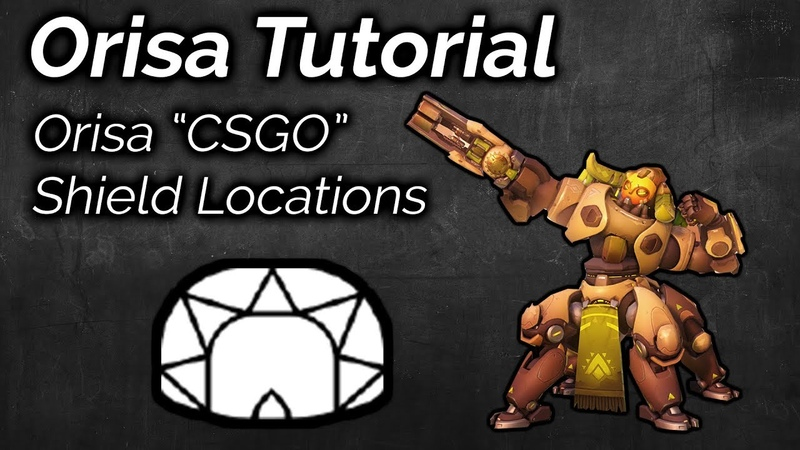 CSGO Shield Trick Techniques Locations | Overwatch Advanced Orisa Guide