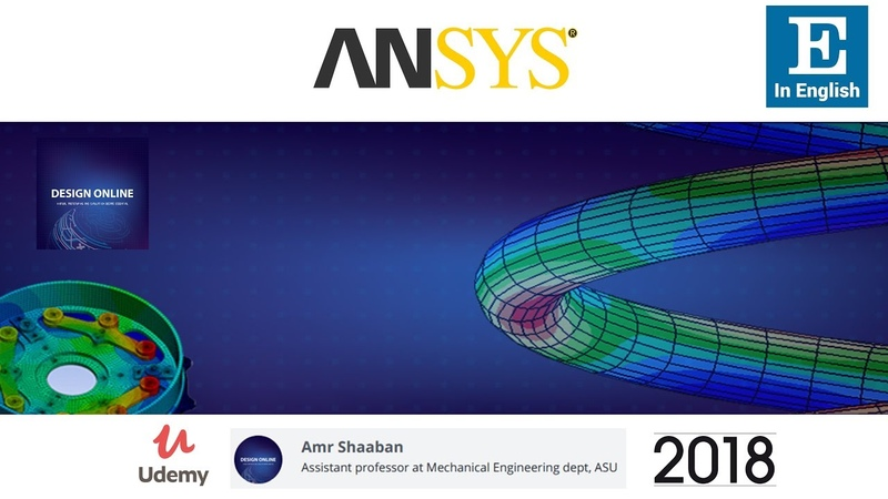 Ansys Basic Course for beginners (in English for non-Arabic users)