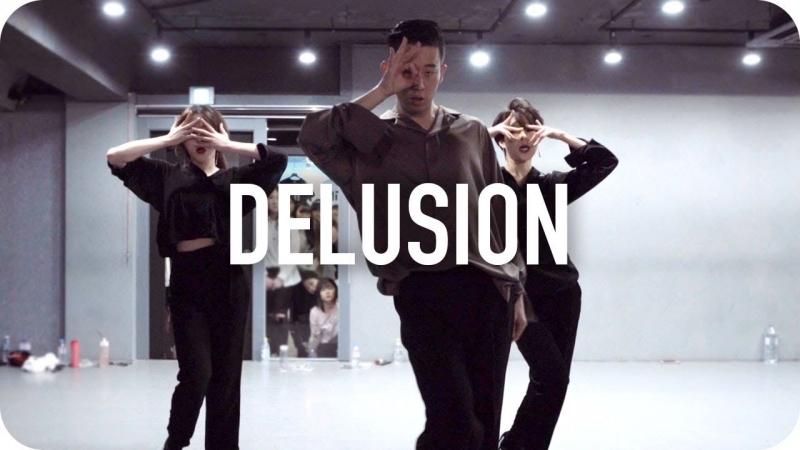 1Million dance studio Delusion - Uhm Jung Hwa (Duet With Lee Hyori) / Gosh Choreography