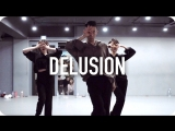 1Million dance studio Delusion - Uhm Jung Hwa (Duet With Lee Hyori) / Gosh Choreography
