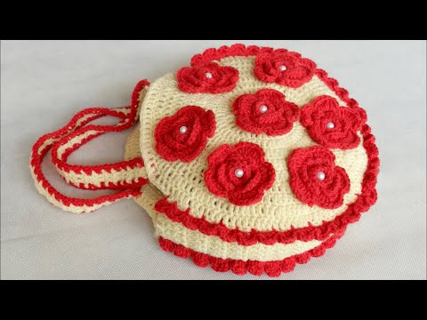 WOW !! Woolen Handbag Making at Home || Handmade Purse Making with Woolen || CROCHET Handbag Purse