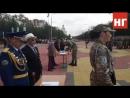 Первая присяга выпускников военной кафедры КГУ в Костанае. Министр образования РК о военных кафедрах