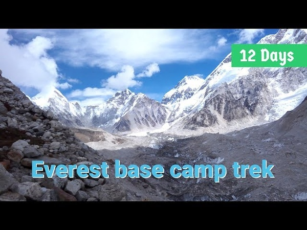 Day by day detail of classical Everest base camp trek 12 days