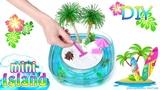 How To Make A Miniature Island In Ocean Zen Garden DIY Stress-Relieving Desk Decoration