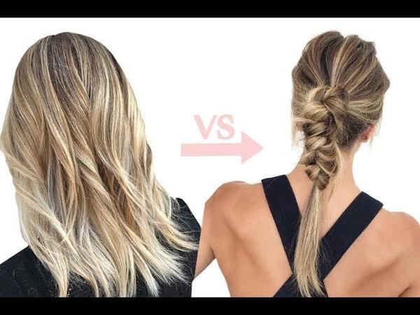 Как заплести модную косу из двух хвостов пошаговая инструкция