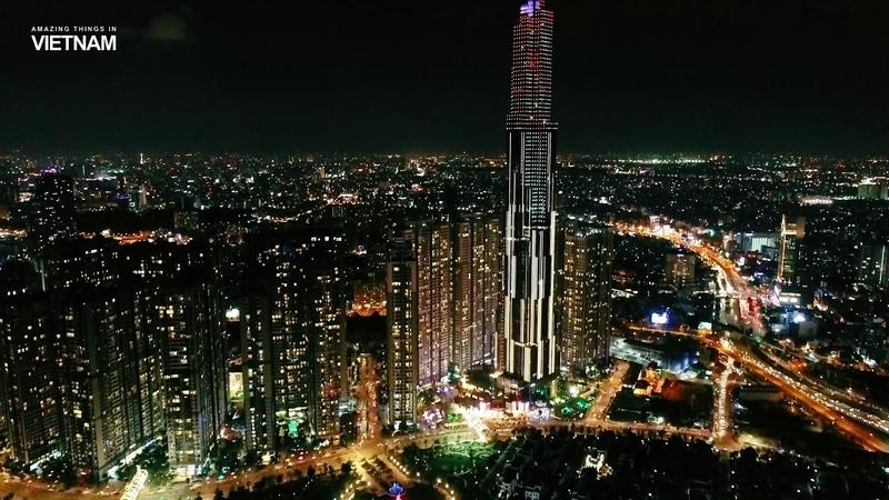 Landmark 81 – the highest building in Vietnam - Tòa nhà cao nhất Việt Nam (4k)