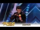 Lioz Shem Tov Israeli Mentalist Has SUPERPOWERS But Is It Funny America's Got Talent 2018