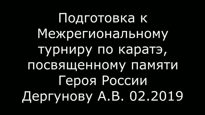 До турнира по каратэ памяти Дергунова А В остался 1 день