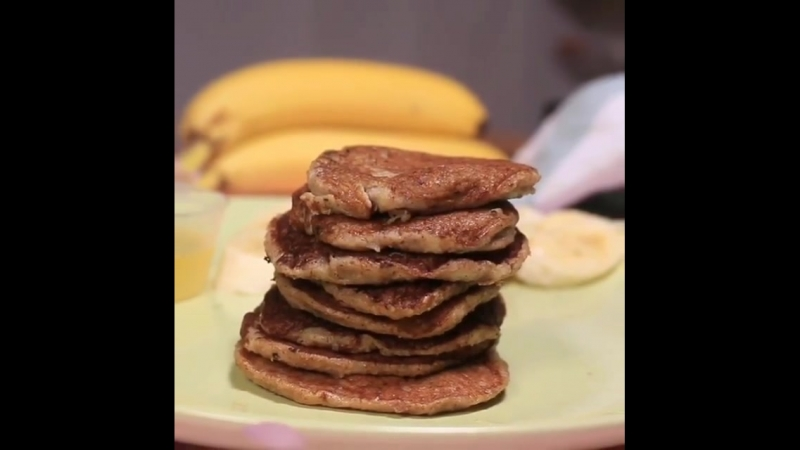 Банановые панкейки Здоровое питание | Power of will