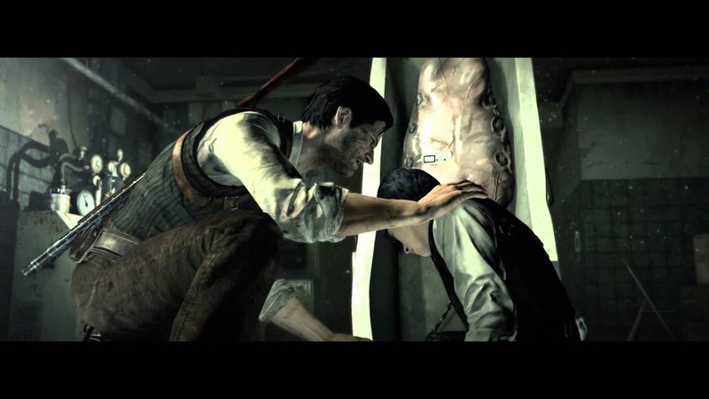 The Evil Within — Ch. 5 Inner Recesses Sebastian Finds Joseph Oda «My Head Not Ok» Cutscene PS4