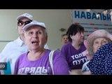 Злобные бабули из «Отрядов Путина» порвали Telegram и сожгли Дурова, пригрозив ему визитом
