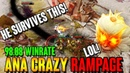 ANA Monkey King 98% WIN RATE - RAMPAGE Highlights Dota 2