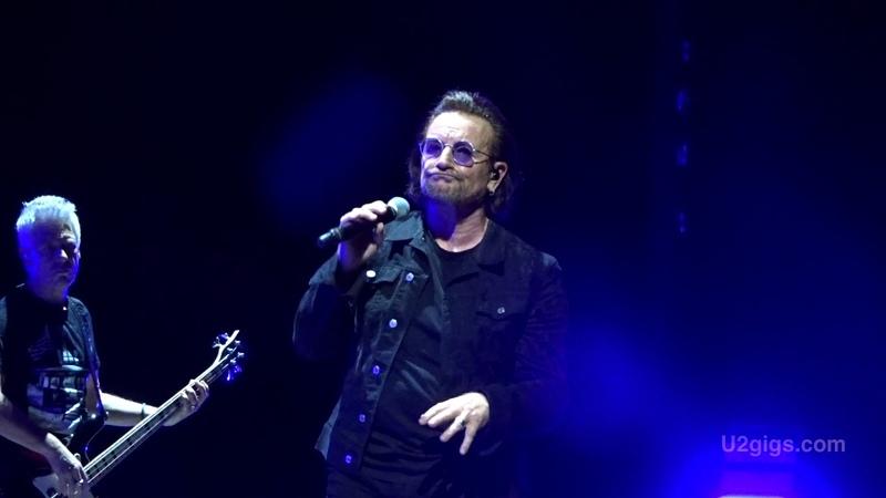 U2 Dublin Dirty Day (tour premiere!) 2018-11-09 - U2gigs.com
