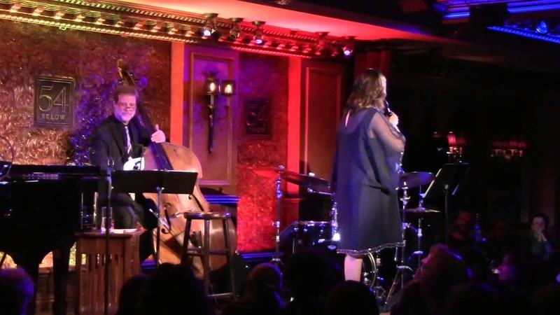 Ann Hampton Callaway sings Pick Yourself Up at 54 Below