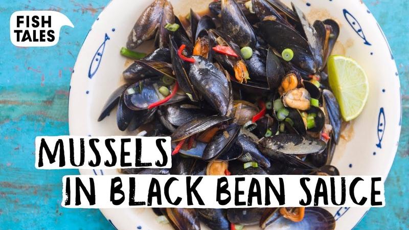 Dutch MUSSELS in black bean sauce | Bart van Olphen