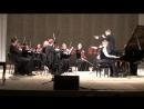 С Вятским камерным оркестром. Февраль 2018 г.