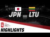 Япония - Литва - 1:6