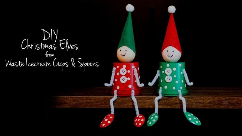 DIY Christmas Decorations 2018 The Elf on the Shelf Santa's Elves for Christmas