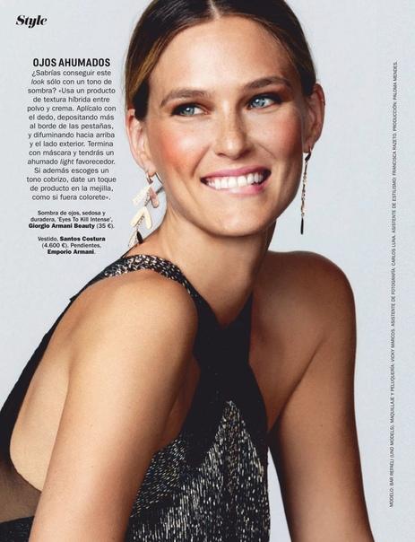 AR REFAELI Cosmopolitan Magazine, Spain 01/2019