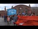 Bremen 800 linke Gegendemonstranten und Antifa versuchen Frauenmarsch zu verhindern 07 07 2018