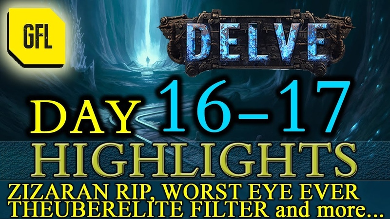 Path of Exile 3.4: Delve DAY 16-17 Highlights Theuberelite filter sound, how to get featured