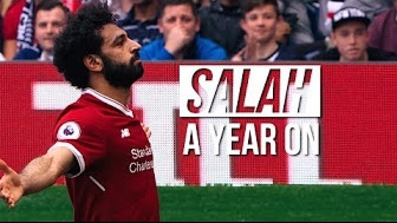 Salah: A Year On   Mo Salahs Extraordinary Debut Season
