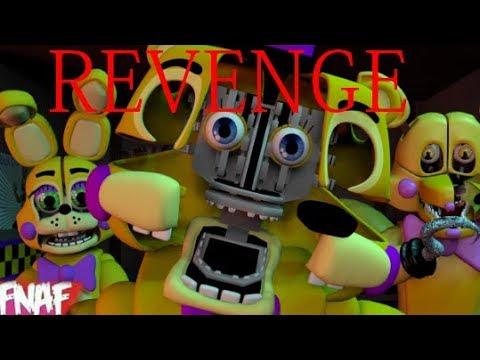 (Fnaf) (SFM) Revenge By Rezyon ZombieWarsSMT Collab With DutifulNickel