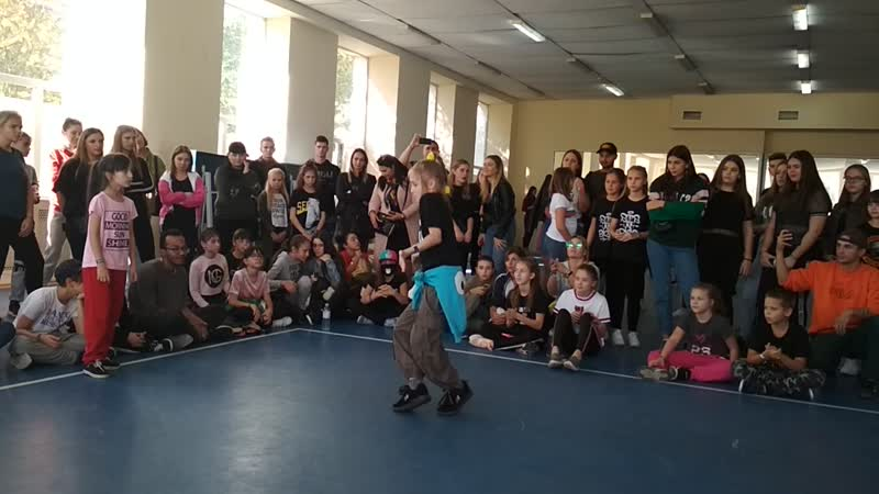 ForTheWin Battle финал Hip-Hop Kids Улитка (Urban Stomp) - Соня (DanceMatix)