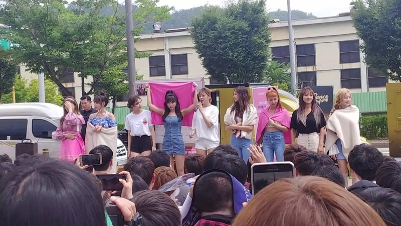 [FANCAM] 180714 트와이스 (TWICE) 음악중심 미니팬미팅 Music Core Mini-Fanmeeting Part 1