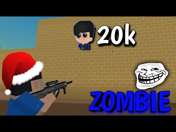 Zoeirinhas no Zombie Survival Block Strike especial de 20k Saga Do Zumbi 9