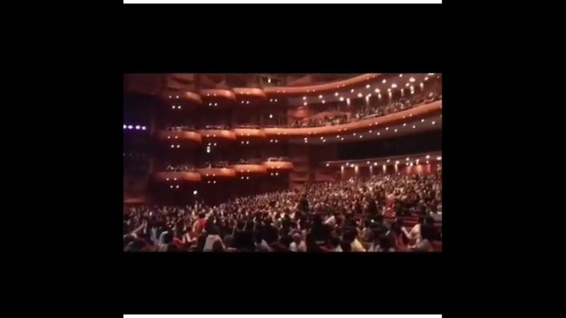 Сон Хун на концерте «Кобе в Корее в 2018 году»