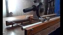 Резка листа. Магнитная направляющая для болгарки своими руками.Часть 2. Making Angle Grinder Stand.