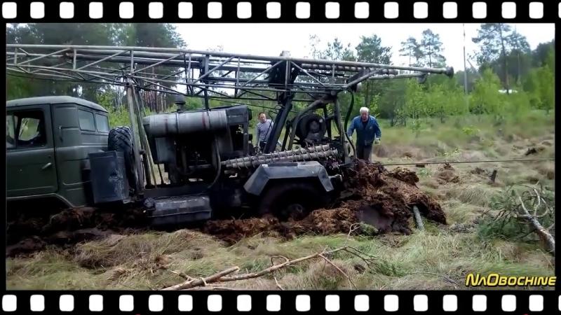 ЗИЛ 131, ЗИЛ 157 В экстремальных условиях! ЗИЛы не только месят грязь но и работают! Подборка