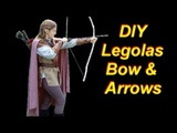Legolas Costume Tutorial Part 3 Bow, Quiver, Arrows, and Hair