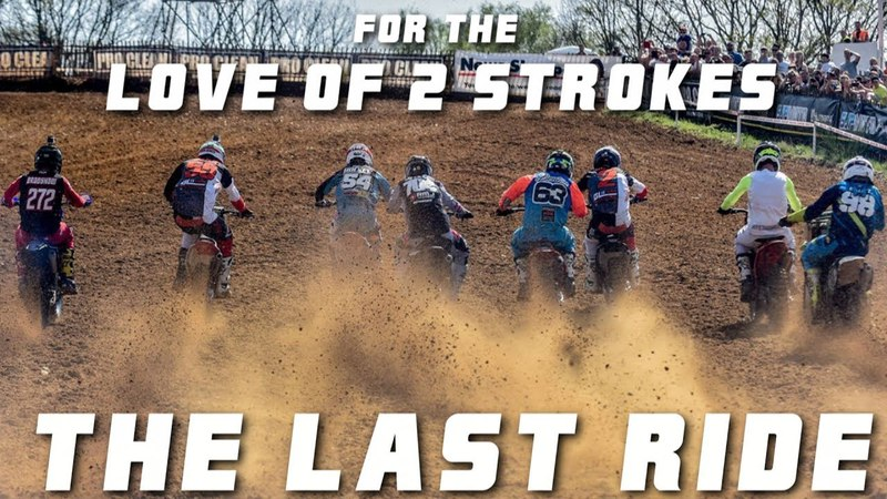 Completely Insane 2 Stroke Racing at Iconic Track | For the Love of 2 Strokes - The Last Ride