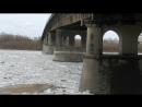 Ленинградский мост Ледоход