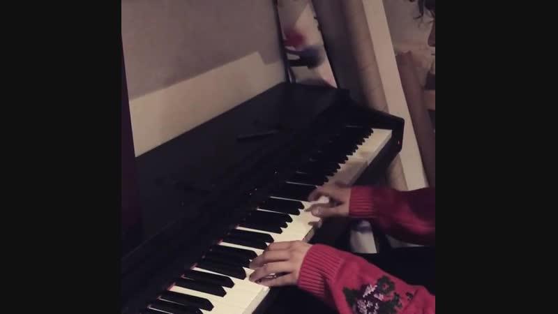 Matty's piano