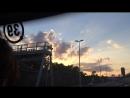 Красивое небо по дороге из Вены в Прагу⛅️