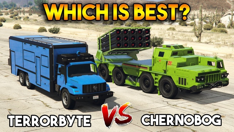 GTA 5 ONLINE TERRORBYTE VS CHERNOBOG (WHICH IS BEST)