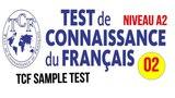 TCF blanc - Test de connaissance du fran