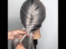 """Katie DeLuca🔸Braids🔸Foilayage on Instagram: """"Here is a quick tutorial on how to do a French fishtail braid. Once you get starte"""