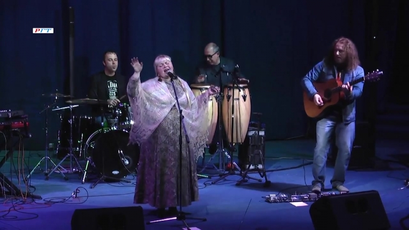 Марина Соколова и Dimetric band в проекте «Этно-Граффити»