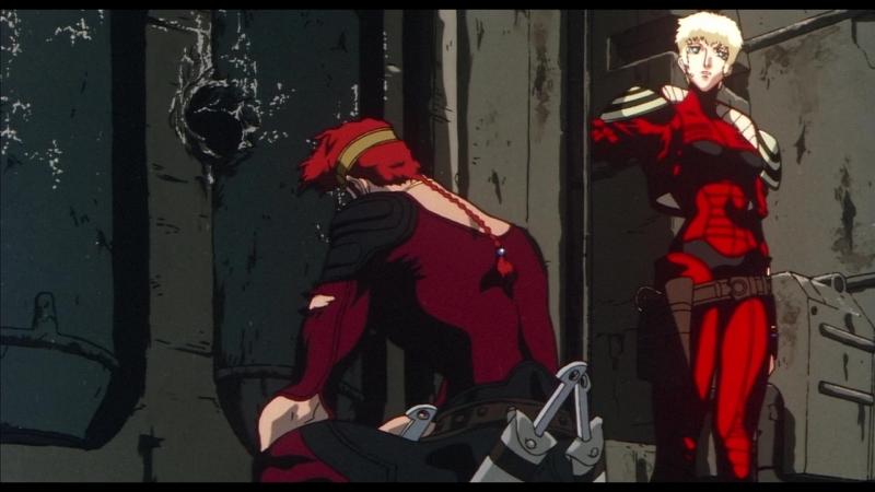 Охотник на вампиров Ди Жажда крови аниме