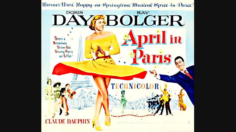 April in Paris 1952 Doris Day Ray Bolger Claude Dauphin