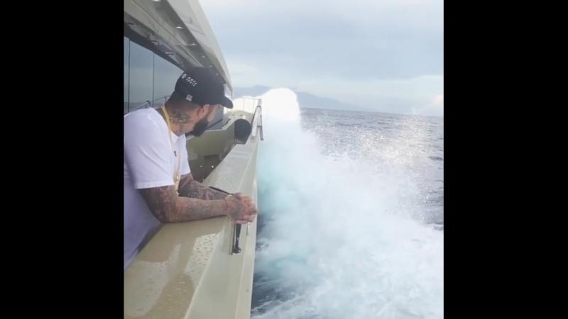 Просто... Я на лодке пол лета