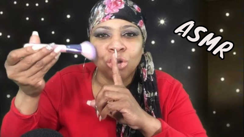 ASMR Tingles Gum Chewing, Chit Chat Makeup Tutorial with 1K Yellow Diamond Video