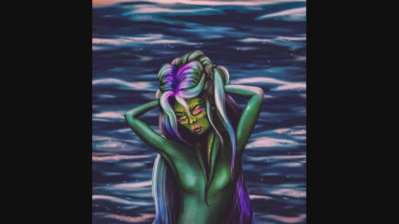 A mermaid iPad 2018 ProCreate