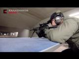 Ларри Виккерс тестирует пулемет РПК-16